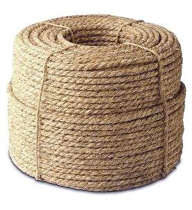 2 Inch X 100 Ft Natural Fiber Manila Rope 3 Strand Manila Rope Natural Fibers Rope
