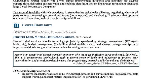 Resume Executive Level Resume 1 Resume Functional