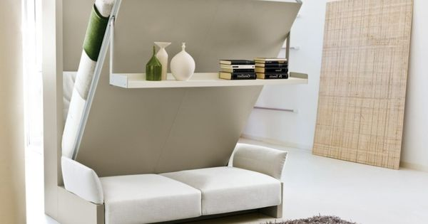 Bedroom White Beds Sofa Also Books Shelving With Space Saving Bedroom Ideas And With Luxury Fury