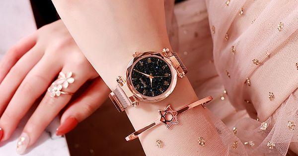 Starry Sky Magnetic Women S Wrist Watch Cute Watch Mall In 2020 Women Wrist Watch Watches Women Fashion Womens Watches