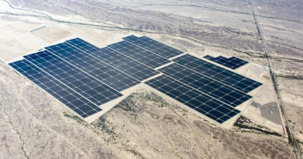 World S Largest Fully Operational Utility Scale Solar Pv Facility Is Completed Solar Solar Panels Solar Thermal Energy