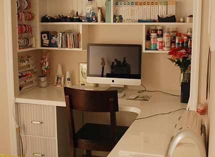 I wish crafting closet space