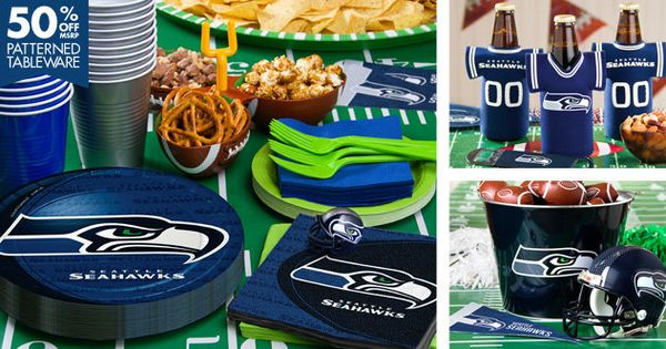 NFL Seattle Seahawks Party Supplies City CWs