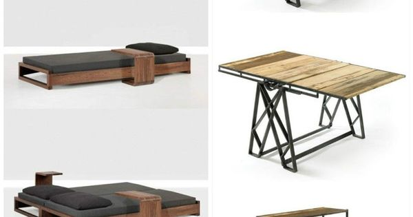 Muebles multifuncionales ideas pinterest industrial for Muebles multifuncionales ikea