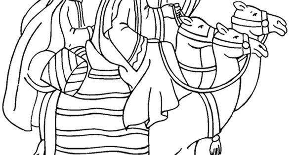 bible coloring pages wise men - photo#9
