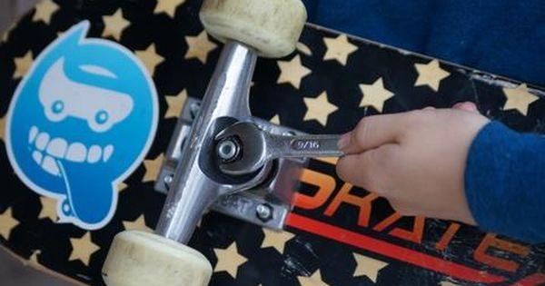 Skateboard Maintenance For Beginners Skateboard Beginner Skateboard Skateboarding Tricks