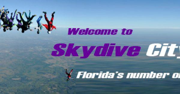 Skydive City In Zephyrhills Fl The Best Skydive City Skydiving Weekend Fun