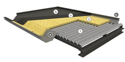 Componente de la cubierta deck pesada y ligera por - Cubiertas metalicas ligeras ...