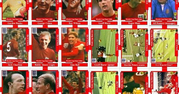 1966 World Cup Squad World Cup Final World Cup 1966 World Cup Final
