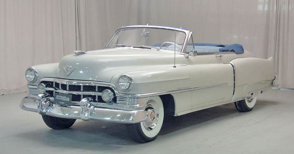 1950 Cadillac Series 62 Convertible Drivers Side Front