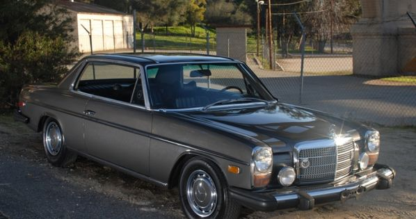 Mercedes motoring 1974 280c gasoline coupe for Mercedes benz hunt valley