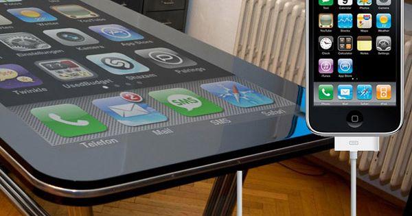 58 inch iTable. Legit app playing