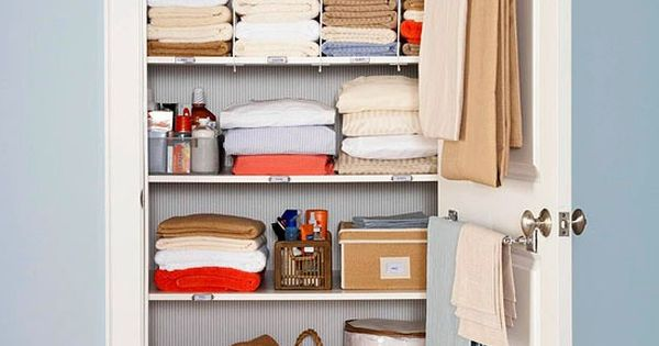 How to organize a linen closet for free pantry closet for How to organize your closet for free