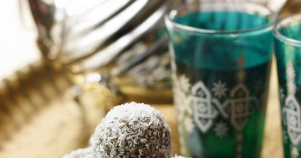Truffles, Pistachios and Shredded coconut on Pinterest
