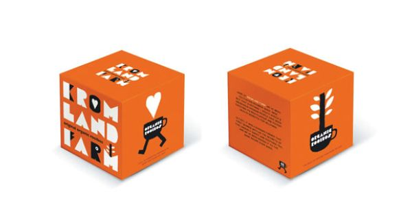 Packaging And Visual Identity For South African Tea Brand Kromland Farm By Jean Jullien Design Graphique Savon