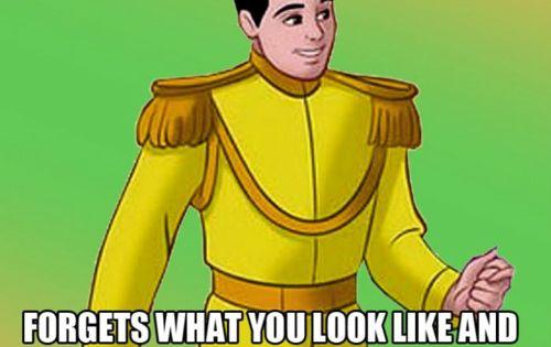 Disney's Prince Charming Meets Cinderella Meme