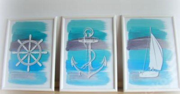 Plakaty Obrazki Marynistyczne Morski Kotwica 5960058586 Oficjalne Archiwum Allegro Nautical Prints Nautical Posters Nautical Art