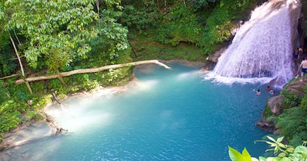 The Blue Hole In Ocho Rios Jamaica Off The Beaten Track With Cliff Jumping Rope Swinging