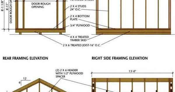 Do It Yourself Building Plans: Blueprints For Sheds, DIY Building Plans, Shed Plans