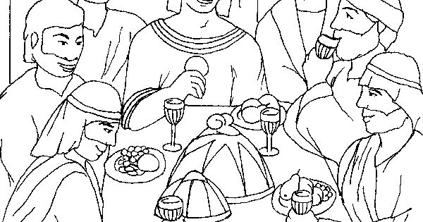 Joseph coloring pages joseph and his brothers coloring for Joseph and his brothers coloring page