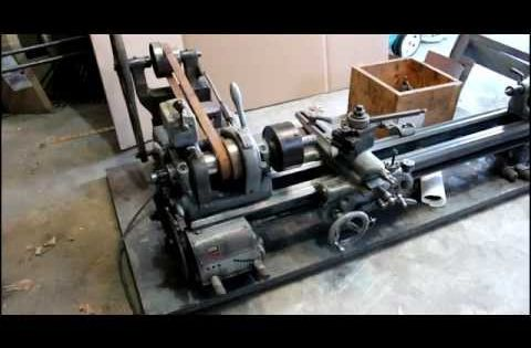 South Bend Model 9a With 4 5 Bed And Taper Attatchment Youtube In 2020 Metal Lathe South Bend Machine Shop