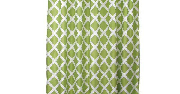 "Blissliving Home ""Kew"" Green Shower Curtain | Bloomingdale's | Green ..."