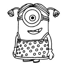 Top 35 Despicable Me 2 Coloring Pages For Your Naughty Kids Minion Coloring Pages Minions Coloring Pages Valentine Coloring Pages