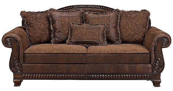 The Bradington Truffle Sofa From Ashley Furniture