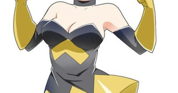 Janet Van Dyne The Wasp Anime Interest Pinterest