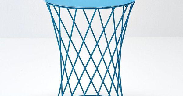 Table basse m tal filaire tiau la redoute interieurs for Table exterieur la redoute
