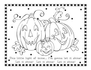 45++ This little light of mine coloring page HD
