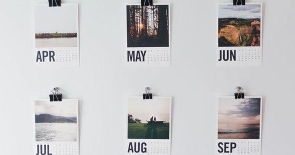 Wandkalender selber machen wand dekorieren pinteres for Studentenzimmer dekorieren