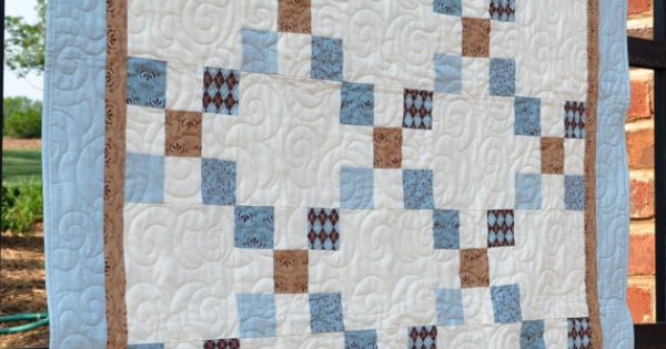 A Sweet Baby Boy Quilt Could Use The Camo For The White
