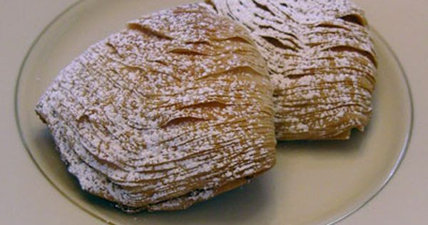 Sfogliatelle A Flaky Multi Layered Clam Shaped Pastry Filled With Ricotta Cheese