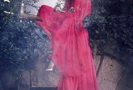 Jasmin: Harrods' Designer Disney Princess Dresses via fstoppers.com Designer: Escada