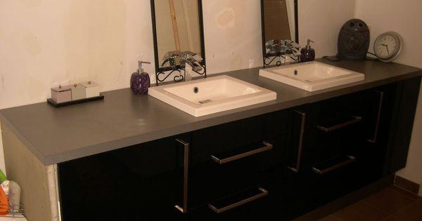 Bonjour je recherche des photos de meuble de salle de for Recherche meuble de salle de bain
