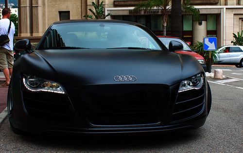 audi r8 noir mat voiture pinterest beautiful appartements et sexy. Black Bedroom Furniture Sets. Home Design Ideas