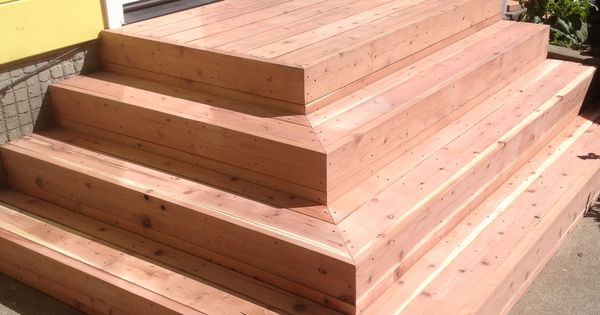 Best Redwood Deck Stairs Before Stain Elcerito Ca Recent 640 x 480