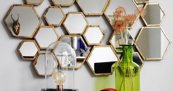 this is interesting the honeycomb mirror from graham and green casa pinterest honeycombs. Black Bedroom Furniture Sets. Home Design Ideas
