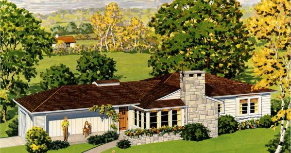 Ranch homes their history and distinguishing for Characteristics of craftsman style homes