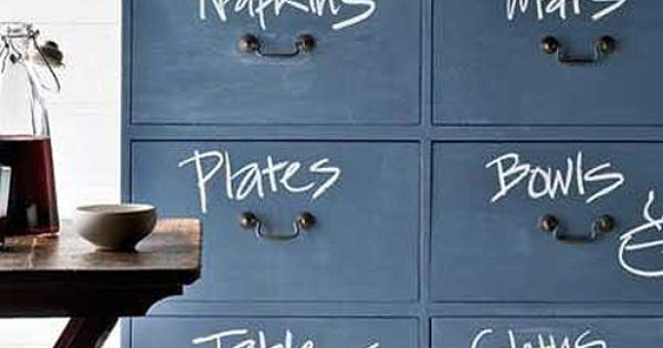 DIY Chalkboard Decor: I really want every room in my house to