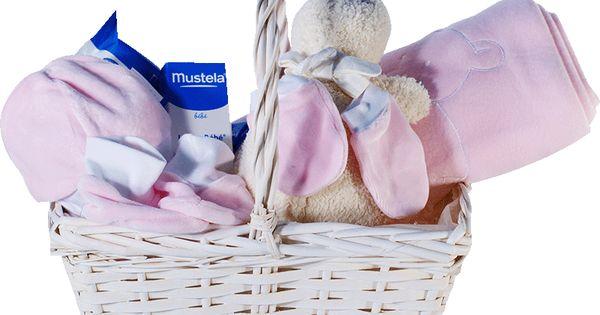 Canastilla para bebes con productos de mustela super completa - Canastillas para bebes ...