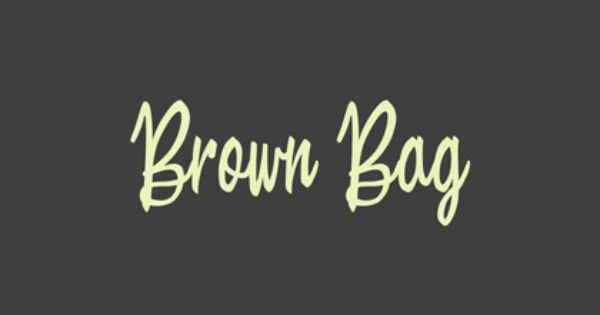 Brown Bag Font Free Design Resources Free Font Free Fonts Online Brown Bags