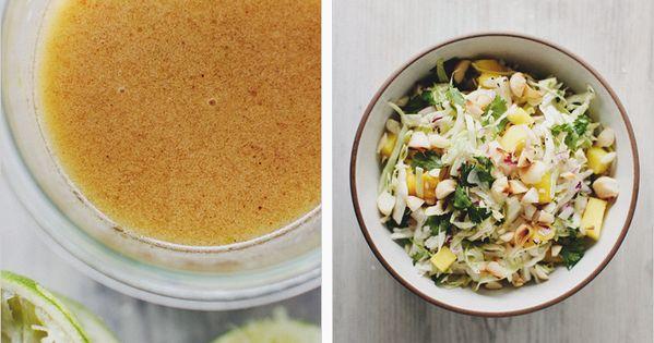 Pasilla Chile & Lime Cabbage Slaw recipe