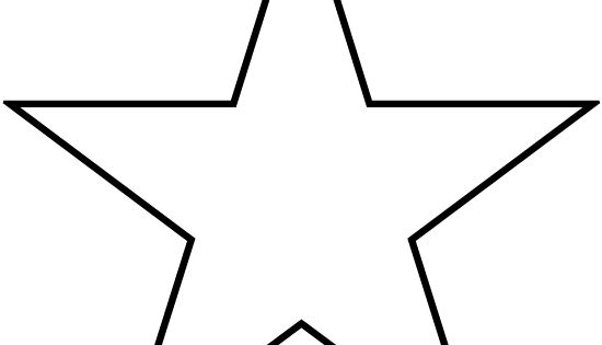 Stars To Print And Cut Out