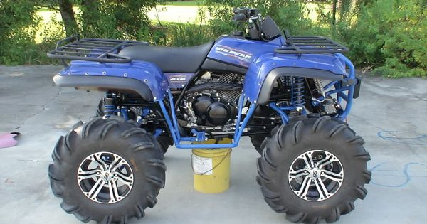 Lifted Yamaha Big Bear 4x4 | ATVs | Pinterest | 4x4 and Bears