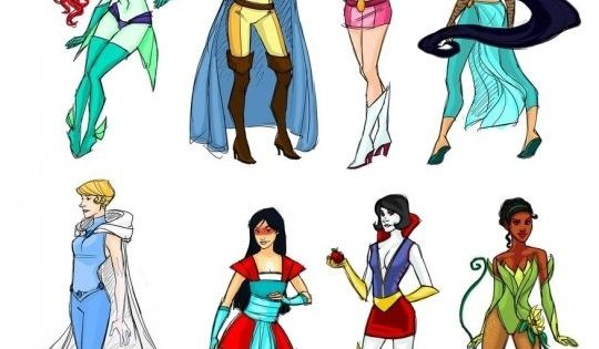 Super princesses!!!!!!!!!!