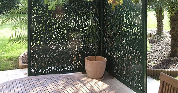 Brise Vue Panneau En Aluminium Gamme Nature Groupe Gmh Panneau Decoratif Jardin Claustra Exterieur Amenagement Jardin