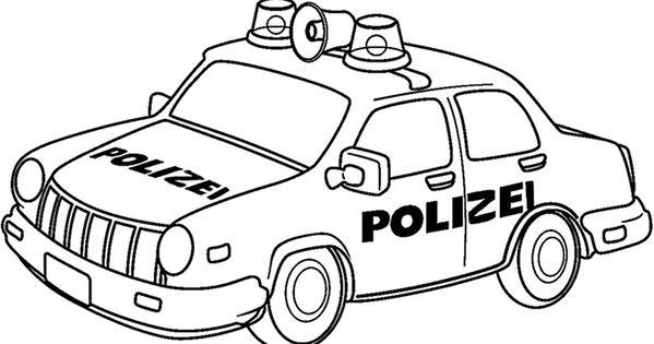Polizeiwagen Zum Ausmalen 76 Malvorlage Polizei ...