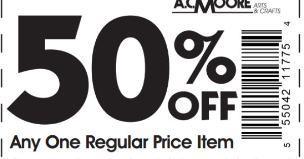 50 percent off coupon ac moore